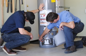 Water heater repair in Irvine, CA, available today by area plumbers.